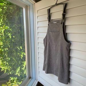 Corduroy Overall Dress 🌙